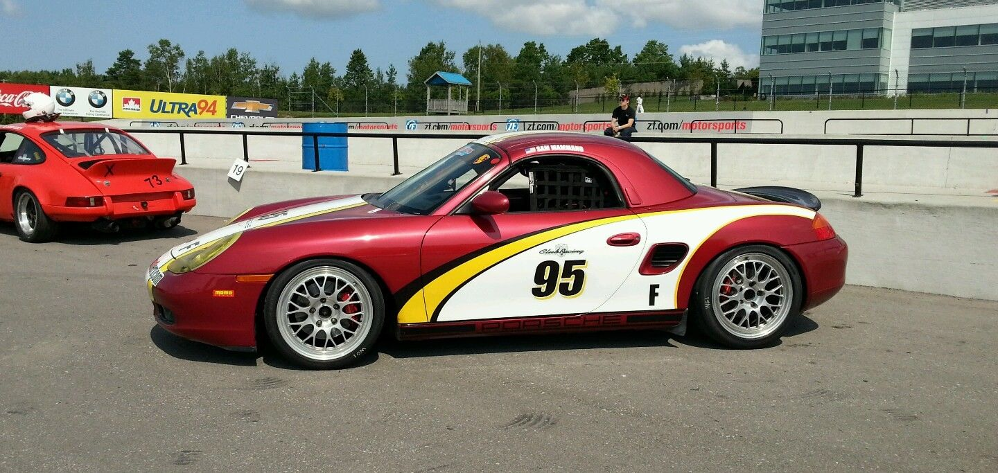01 PORSCHE BOXSTER S 3.2 RACE CAR PCA F STOCK TRACK CAR Race Car For ...