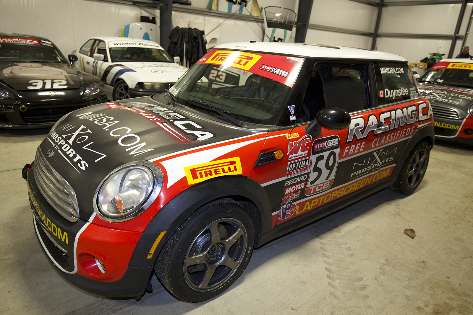 2011 B-Spec Mini Cooper - Pirelli World Challenge Race Car For ...