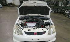 JDM HONDA CIVIC TYPE R EP3 RHD FRONT CLIP K20A 2.0L iVTEC ENGINE 6 SPEED 02-05 main photo