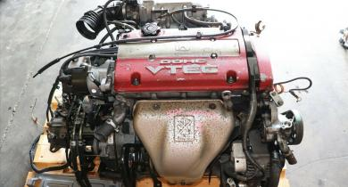 JDM Honda Prelude Type SH 2.2L DOHC VTEC H22A RED TOP Engine M2U4 TRANS ATTS 5MT