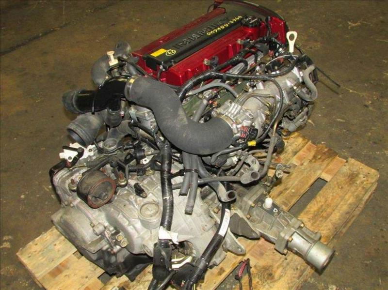 JDM Mitsubishi Lancer EVO 7 4G63 Turbo Engine Diff brembo Complete  main photo