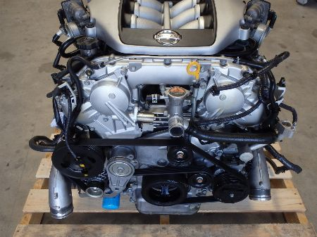 Nissan R35 GTR GT-R VR38 VR38DETT Twin Turbo Engine Motor Complete J067 main photo