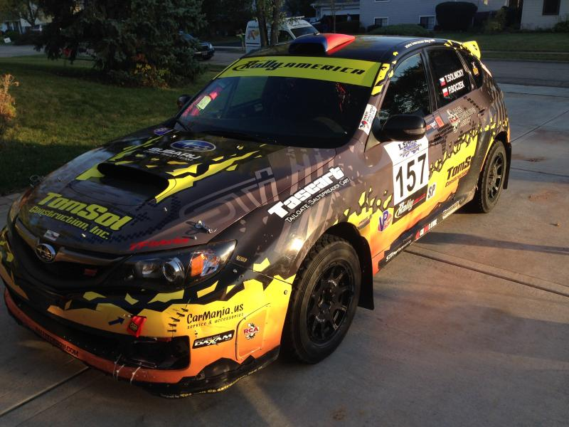 2008 Subaru WRX STI Rally Car For Sale - $65000