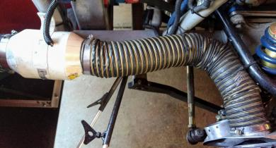 Front Brake Cooling Package