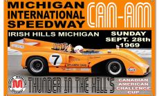 McLaren Michigan International Speedway Garage Sign main photo
