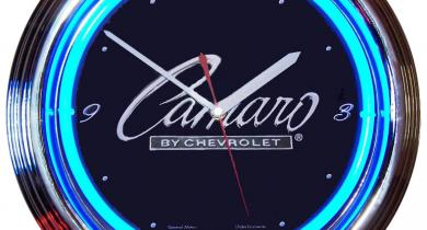 Neon Style Clocks For Your Shop Or Office