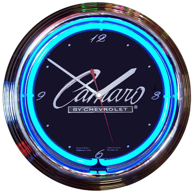 Neon Style Clocks For Your Shop Or Office main photo