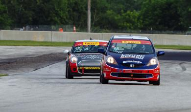 Nixon on Pole in TCB at Road America main photo