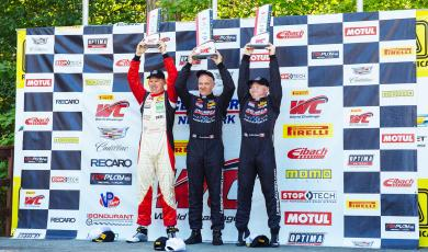 Nixon Score TCB Win in Round 7 at Road America in ClubRacing.com Honda Fit main photo