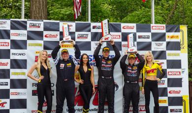 Nixon Win in TCB in Round 8 at Road America main photo