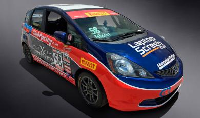 Glenn Nixon is to Compete in Pirelli World Challenge in Honda Fit sponsored by ClubRacing.com main photo